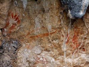 Misteri Unik Tentang Lukisan Berdarah Di Papua Barat [ www.BlogApaAja.com ]