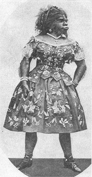 Julia Pastrana (1834-1860) WIKIPEDIA Foto Di Buku Tahun 1900