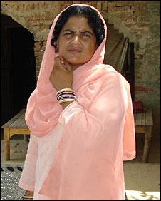 Amreen's aunt, Syeda