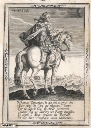 Jendral Vespasian,Diduga Sebagai Pimpinan yang menyerang Kastil Maiden