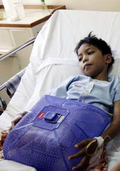 Komar Terbaring di Rumah Sakit