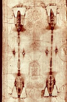 Gambar Yang menempel pada kain menggunakan 'kamera obscura'.