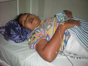 Farida Hanum, ibu bayi berkaki dan tangan 8.