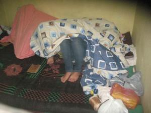Opa Cs di sel tahanan Polsek Namorambe