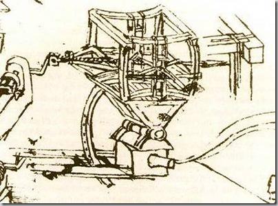 Mesin Perang Karya Leonardo Da Vinci