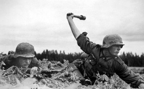 Tentara Jerman ketika menginvasi Soviet [ Wikipedia ]