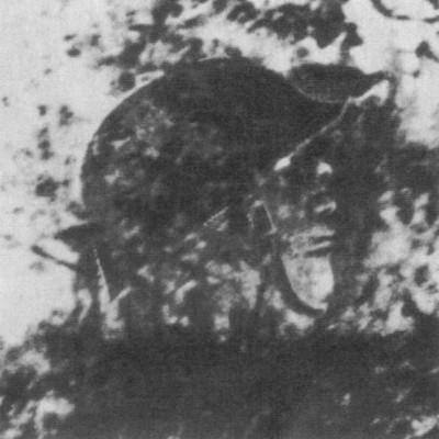 siluet seorang prajurit Ceko